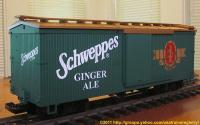 Schweppes Ginger Ale Box Car