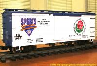 106th Tournament of Roses 1995 Güterwagen (Box car) TR1995