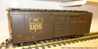UPS gedeckter Güterwagen (Simulated steel box car)