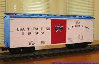 USA Trains 5. Jubiläums-Wagen (Anniversary box car)