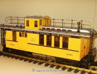 D&RGW Coach & Baggage car (Drover's caboose) 3081