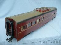 PRR Streamline Panoramawagen (Dome car)