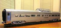 California Zephyr - Vista Dome - Silver Bronco
