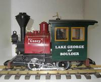 LG&B Porter Dampflok (Steam locomotive) Casey