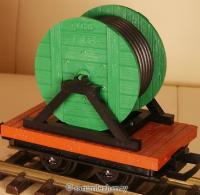 Kabelwagen (Cable spool car)