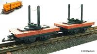 Drehschemelwagen Set (Articulated Beam Carrier)