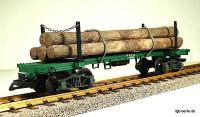 Langholzwagen (Log car); Version 2