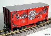 Weihnachtswagen (Christmas boxcar)