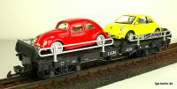 Autotransportwagen (Auto transport car) Beetle Express