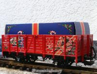 "LGB Hochbordwagen (High-sided gondola) ""Christmas Train"", rot"