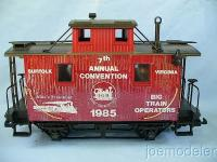 BTO - LGB MRRC 1985 - Jubiläums Wagen (Convention car)