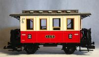 LGB Personenwagen 2. Klasse (Passenger car 2nd class) Version 5