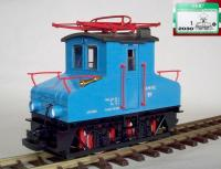 AEG E-Lok E1 blau (AEG Electric locomotive E1 blue)