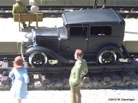Ford Model A Schienenauto (Railcar - Inspection car)