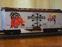 Brownies Brand Kühlwagen (Reefer) BX 592
