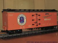 Whitbread Brewing Company Kühlwagen (Reefer), orange WBX 4041