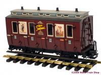 """Suchard"" Abteilwagen (Compartment coach)"