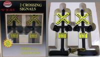 US Bahnübergang Warnsignale (Railroad Crossing Signals)