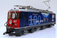 RhB Ellok (Electric locomotive) Ge 4/4 II 627 100 Jahre Chur-Arosa