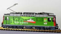 RhB Ellok (Electric locomotive) Ge 4/4 II 630 Chur-Disentis