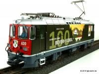 RhB Ellok (Electric locomotive) Ge 4/4 II 620 Bever-Scuol