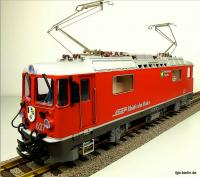 RhB Ellok (Electric locomotive) Ge 4/4 II 627 Reichenau-Tamis