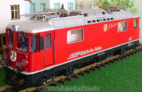 RhB Ellok (Electric locomotive) Ge 4/4 II 615 Klosters