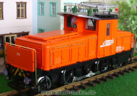 RhB Ge 2/4 Rangierlok 213 (RhB Switching Locomotive) - Orange