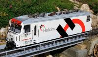 RhB Ellok (Electric locomotive) Ge 4/4 III 649 Holcim