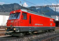 RhB Ellok (Electric locomotive) Ge 4/4 III 652 Vaz/Obervaz
