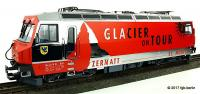 "RhB Ellok (Electric Locomotive) Ge 4/4 III ""Glacier on Tour"""