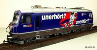 RhB Ellok (Electric locomotive) Ge 4/4 III 644 Savognin