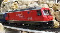 RhB Ellok (Electric locomotive) Ge 4/4 III 641 Maienfeld