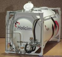 Holcim Zementcontainer (Cement container)