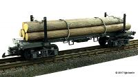 Sumpter Valley Langholzwagen (Log car) 42660