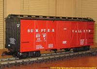 Sumpter Valley Güterwagen (Box car) 356