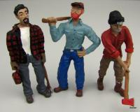 Chip, Woody and Chopper - 3 Waldarbeiter (3 lumberjacks)