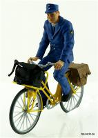 Postbote auf Fahrrad (Mailman on bicycle)