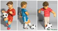 Fußballkinder - Set mit 3 Kindern (Soccer-kids - set with 3 kids)