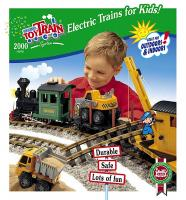 Lehmann US Toy Train Katalog (Catalogue) 2000