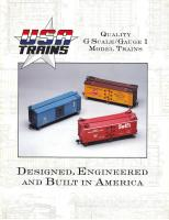 USA Trains Katalog (Catalogue) 1990