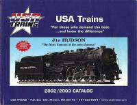 USA Trains Katalog (Catalogue) 2002-2003