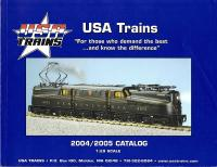 USA Trains Katalog (Catalogue) 2004-2005