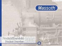 Massoth Katalog (Catalogue) 2006