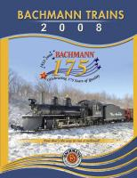 Bachmann Trains Katalog (Catalogue) 2008