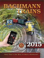 Bachmann Trains Katalog (Catalogue) 2015