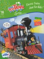 Lehmann Toy Train Katalog (Catalogue) 1998 - English, US