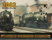 K-Line Electric Trains Katalog (Catalogue) 2003 2nd Edition
