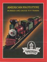 Kalamazoo Toy Trains Katalog (Catalogue) 1981