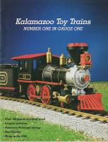 Kalamazoo Toy Trains Katalog (Catalogue) 1987